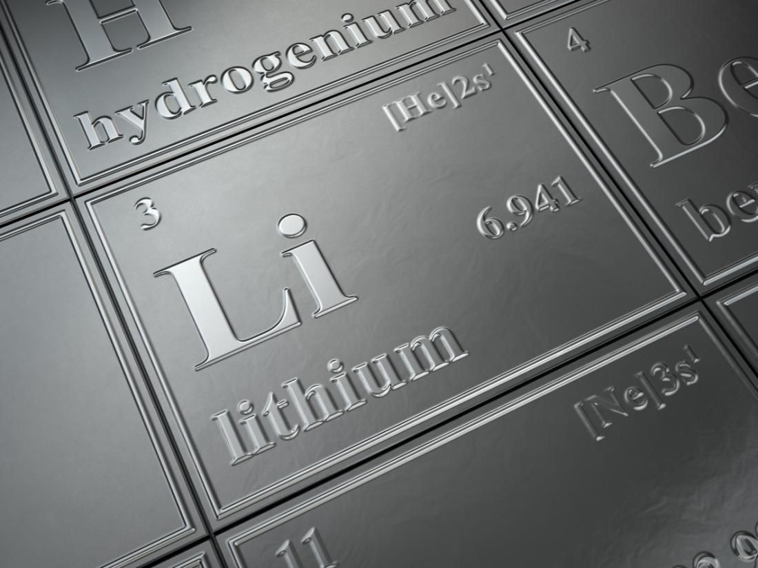 сырье для производства электрокаров - литий