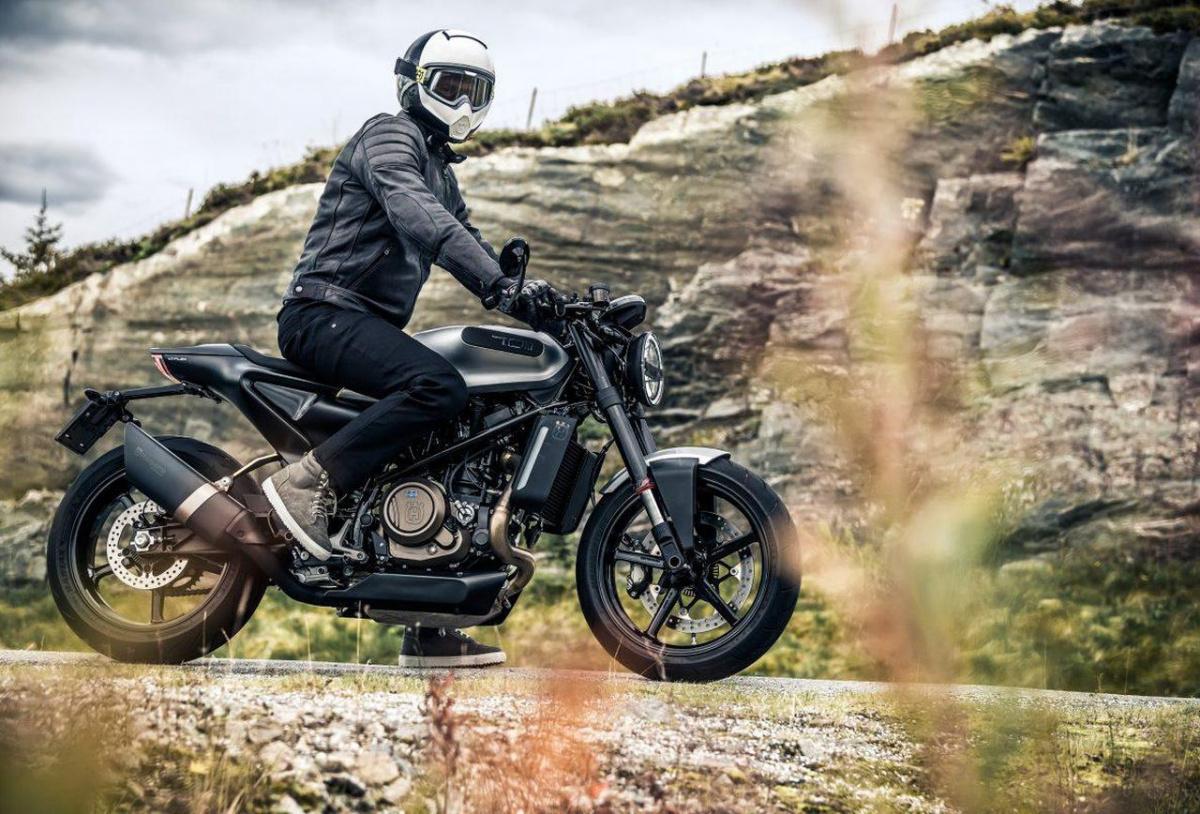 дорожный мотоцикл Husqvarna Svartpilen 401 Украина