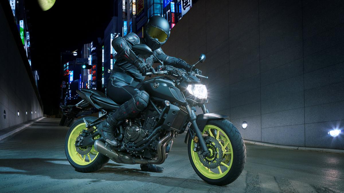 дорожный мотоцикл Yamaha MT-07 Украина