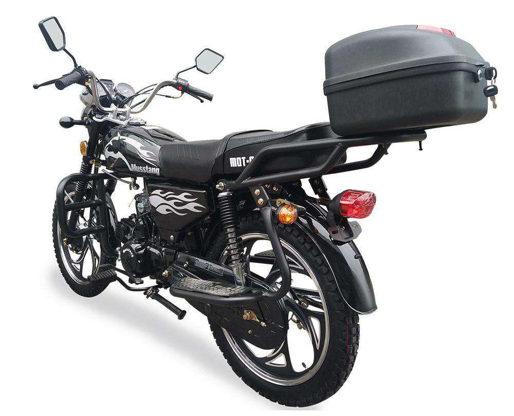 ТОП 10 самых популярных и покупаемых мотоциклов в Украине - мотоцикл Musstang МТ110-2