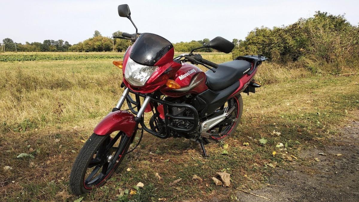 ТОП 10 самых популярных и покупаемых мотоциклов в Украине - мотоцикл Musstang RegionМТ150-8
