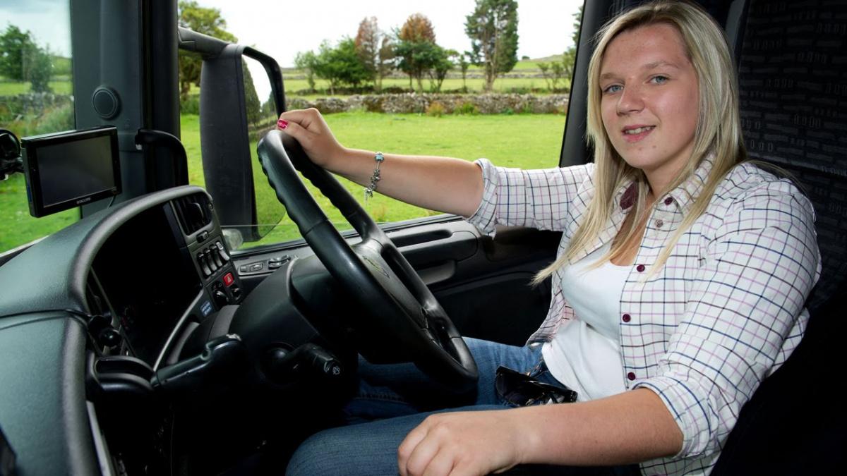 женщины-водители грузовиков