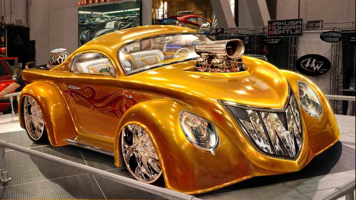 Золотой цвет авто