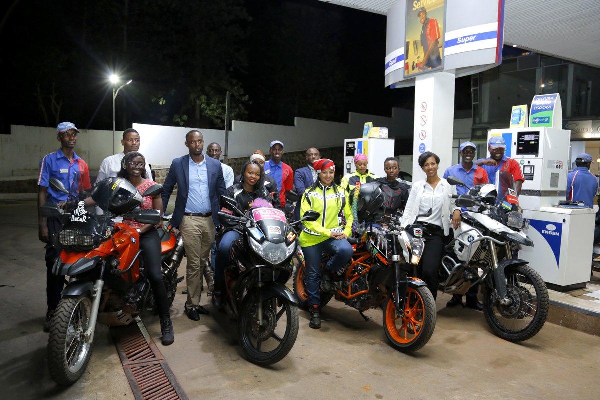 Нестандартные методы повышения безопасности на дорогах - кенийские женщины-байкеры