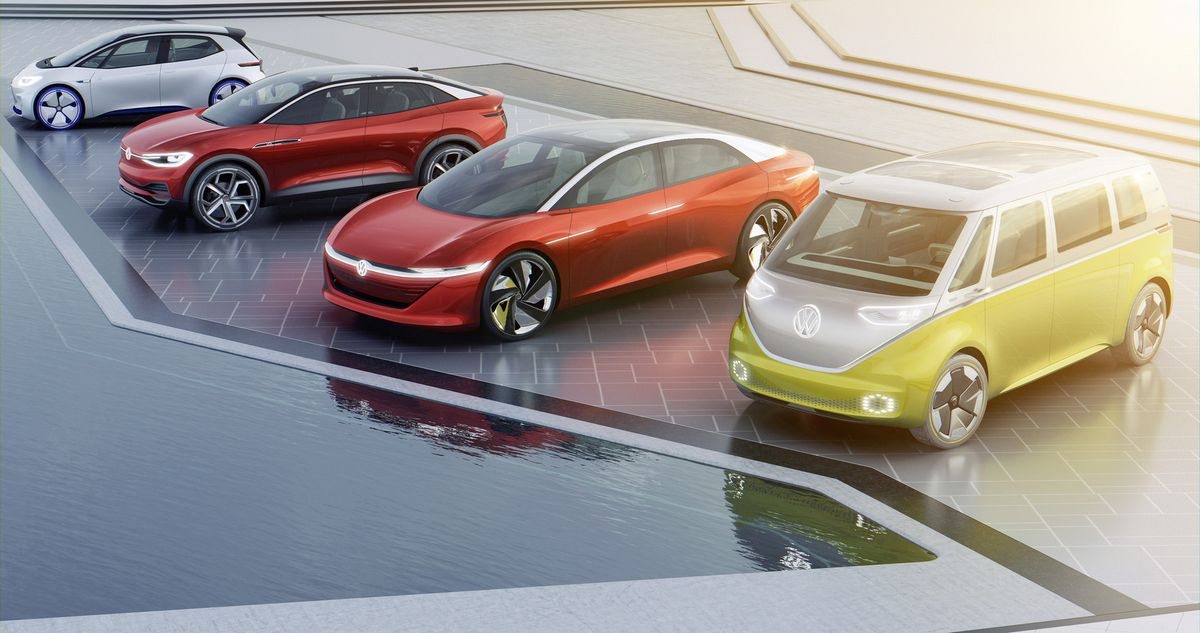 у Фольксвагена возник острый дефицит батарей для электрокаров