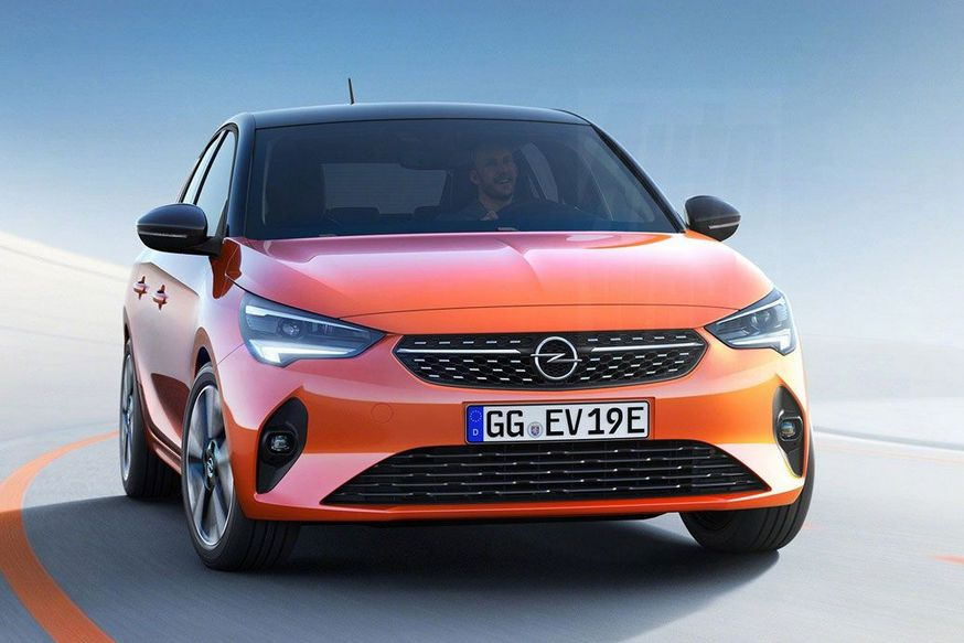 Rassekrechena Opel Corsa 2020 Novyj Dizajn I Elektromotor Avtocentr Ua