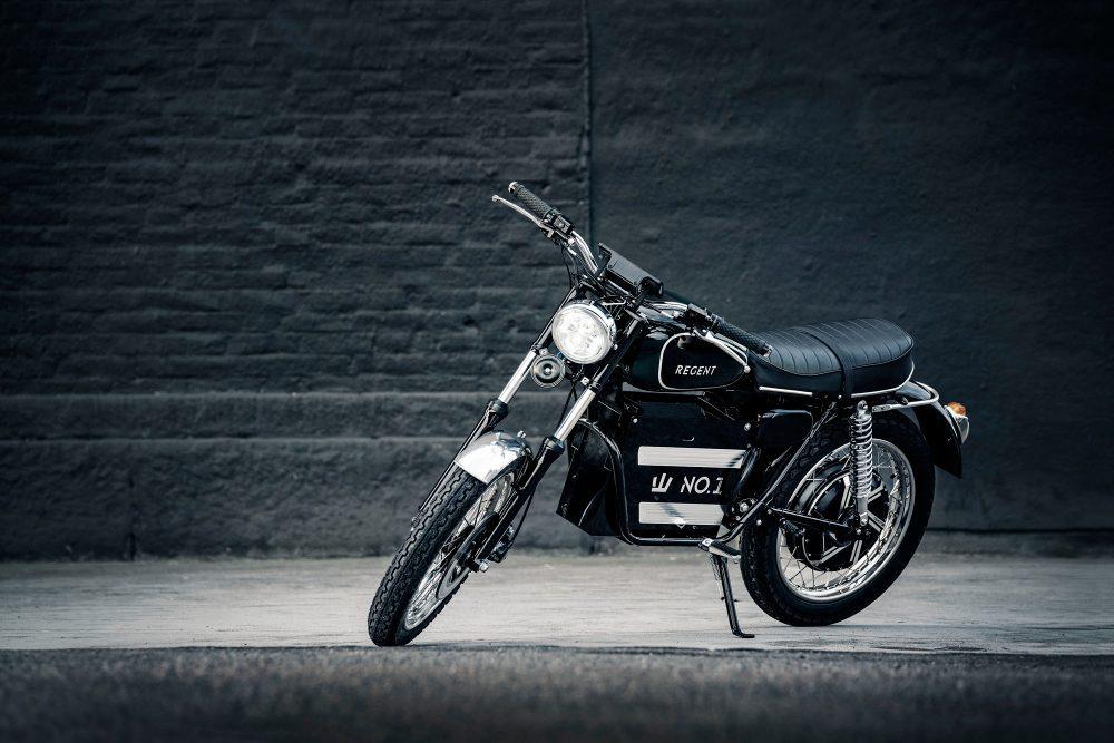 электрический мотоцикл Regent NO.1