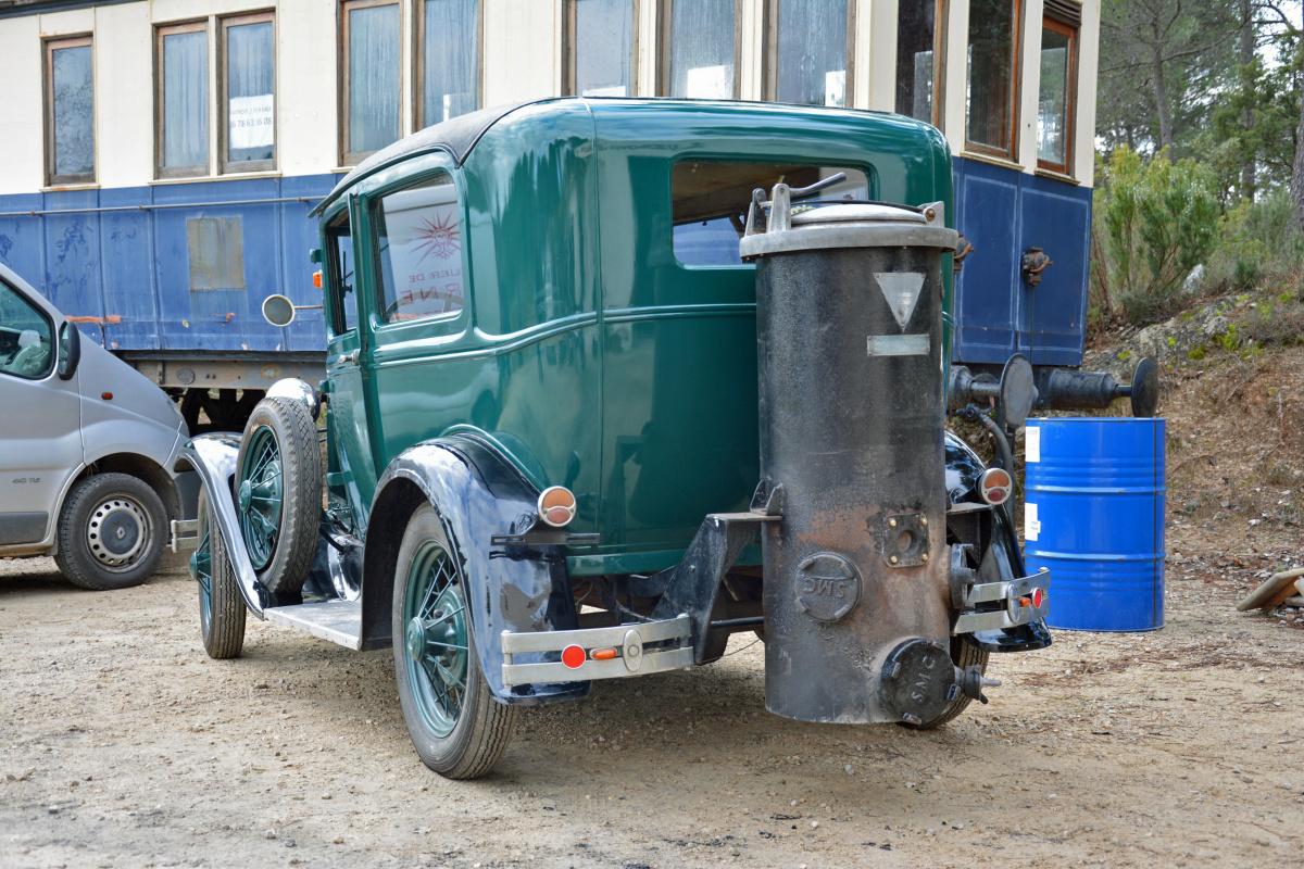 автомобильное топливо - угольный газ в Первую мировую войну