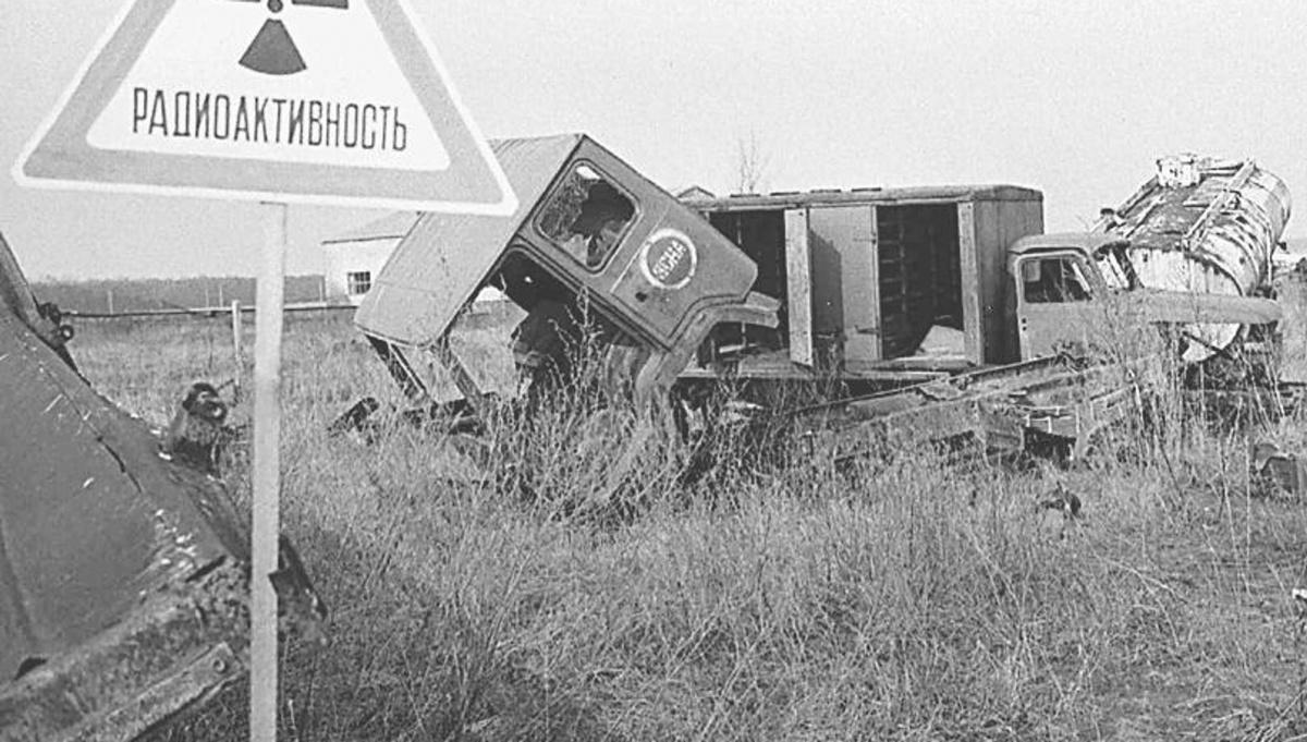 Чернобыль брошенные машины