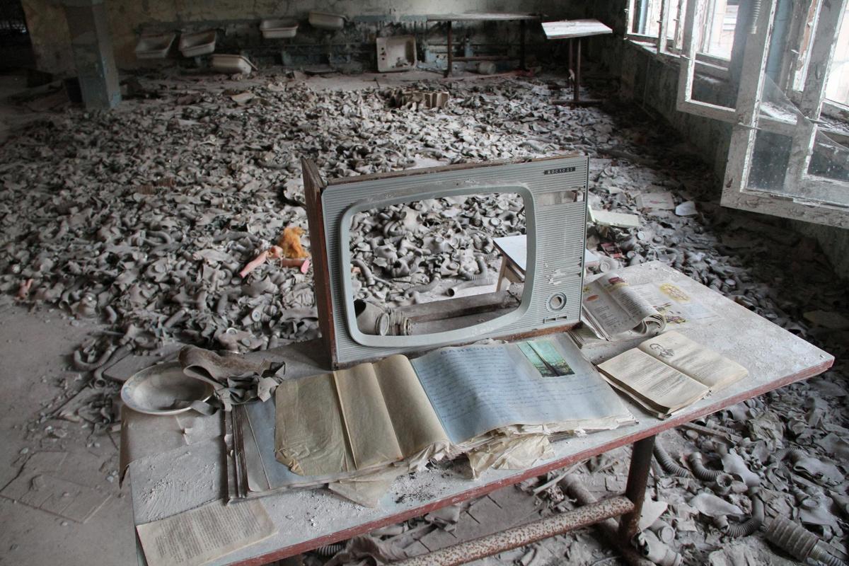 машины сериал Чернобыль