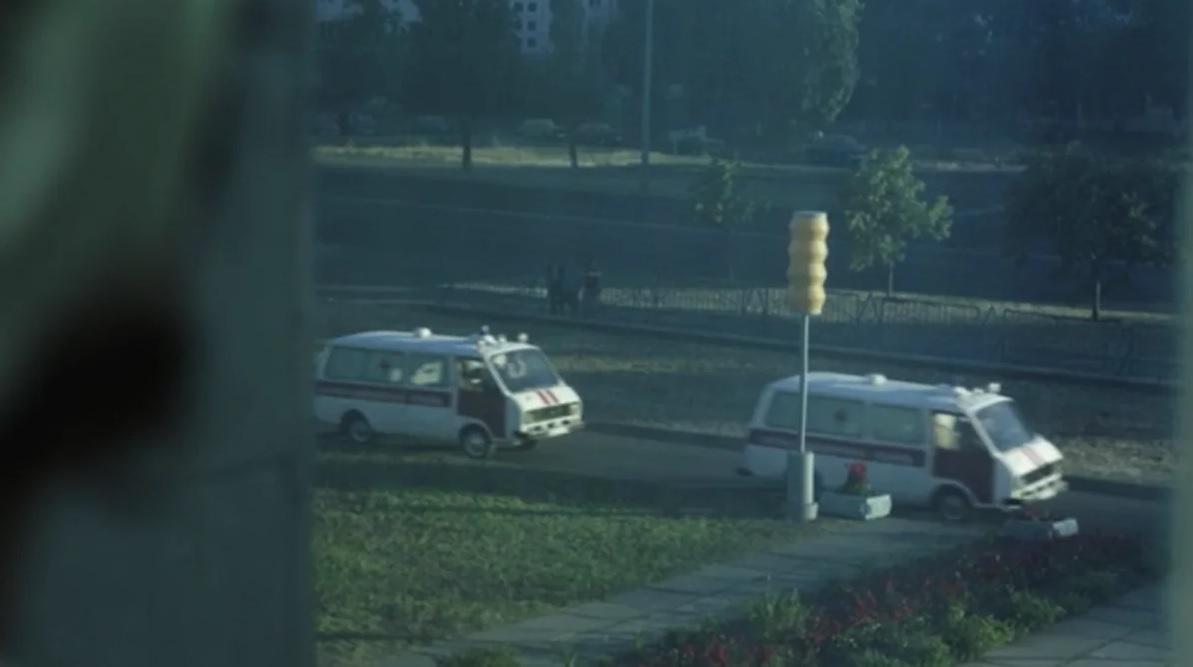 Автомобили и техника сериала Чернобыль - РАФ-22031