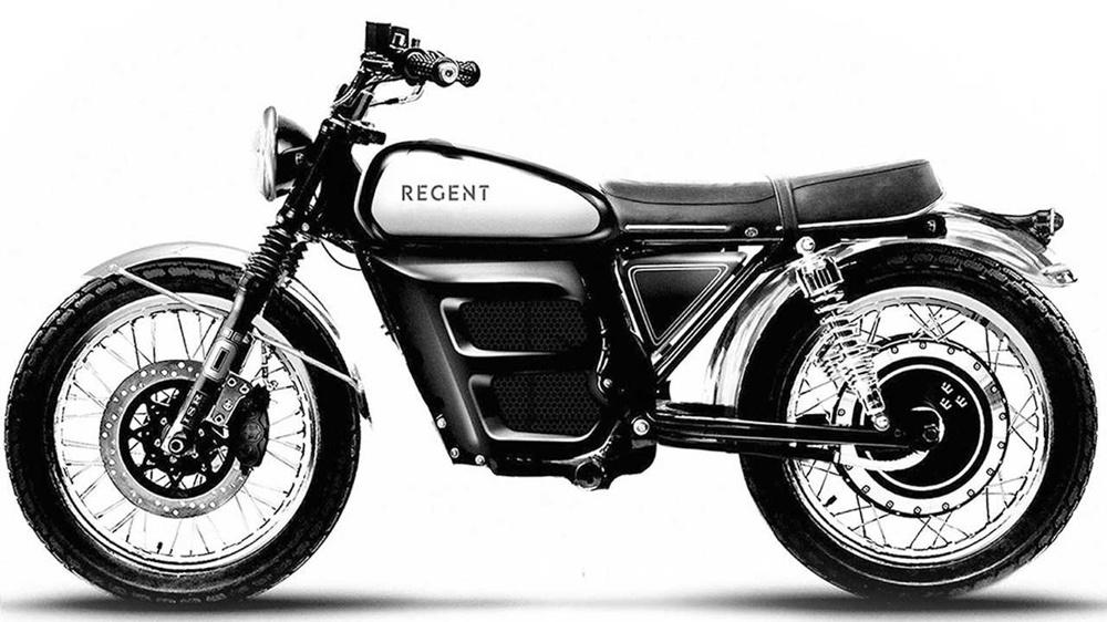 электромотоцикл Regent NO.1