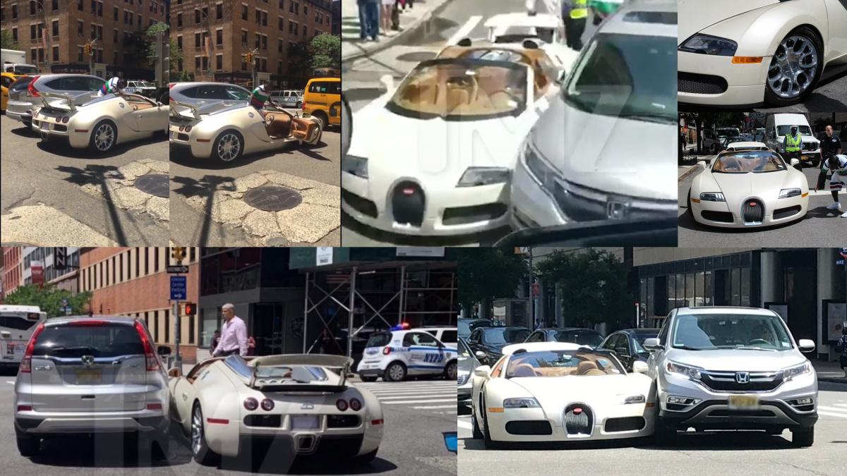 Bugatti VeyronGrand Sport авария комик