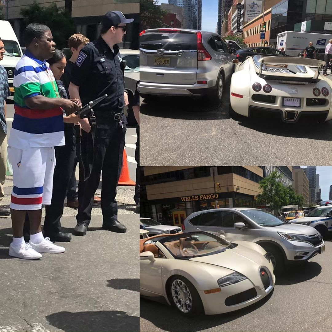 Bugatti VeyronGrand Sport авария
