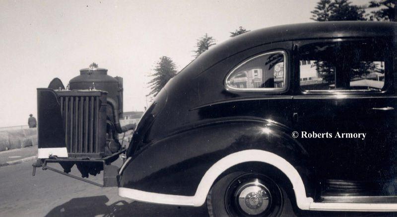 автомобильное топливо - угольный газ