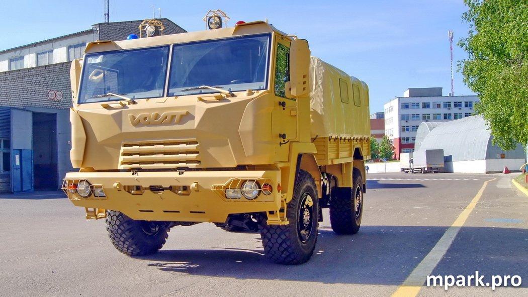 Замена ГАЗ-66 - МЗКТ-5002 (4х4)