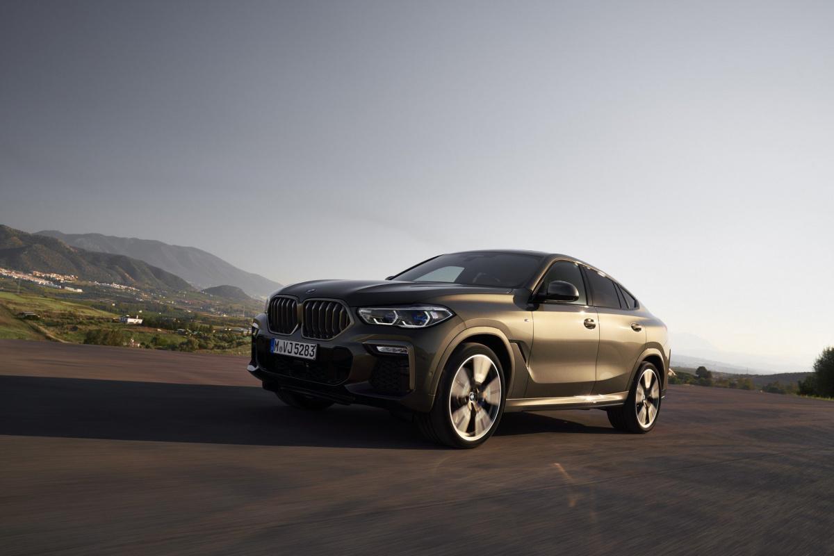 Новинка             Новый BMW X6 2020 полностью рассекречен