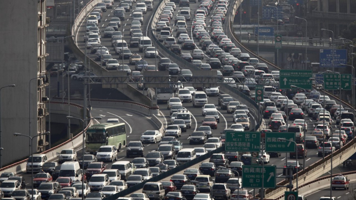 трафик в Китае