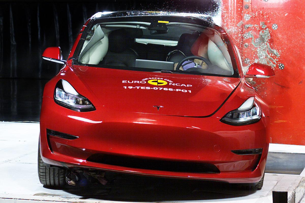 Euro NCAP 2019 - Tesla Model 3