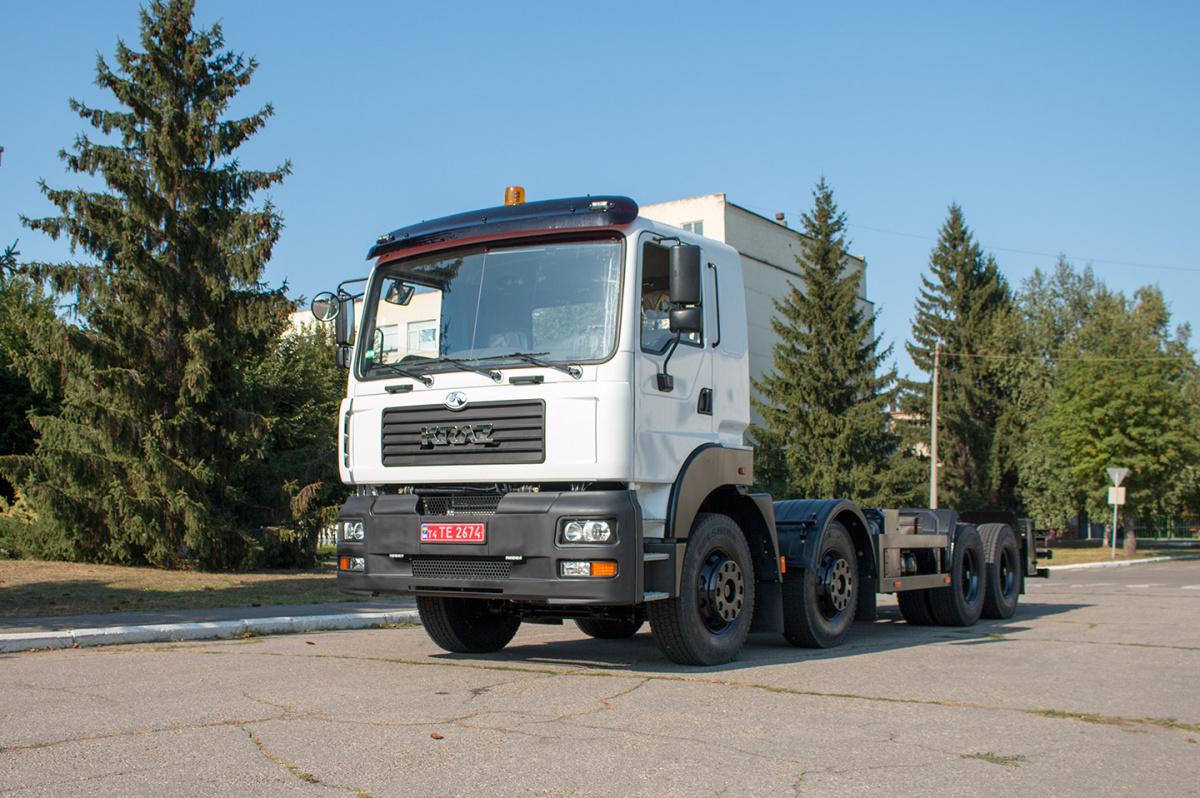 КрАЗ 7133Н4 для установки пылеподавления PW-200