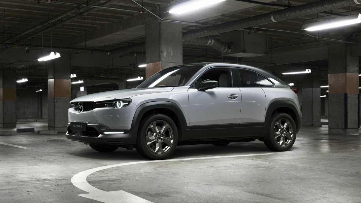 Новая Mazda MX-30 стала самым доступным электрокроссовером на рынке