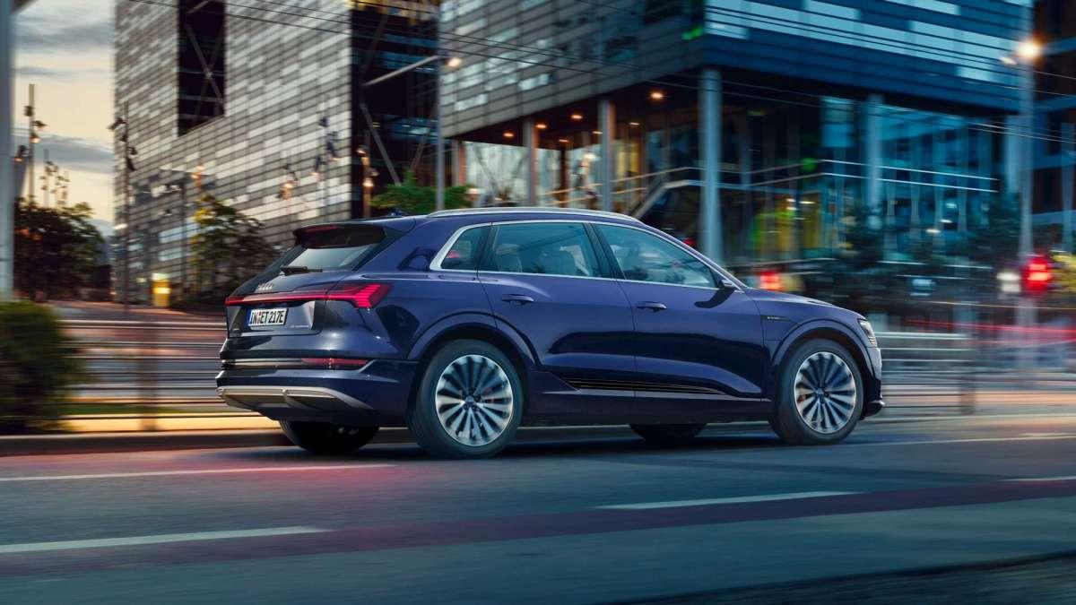 Новый Audi e-tron 2020: яркий дизайн и увеличенный запас хода