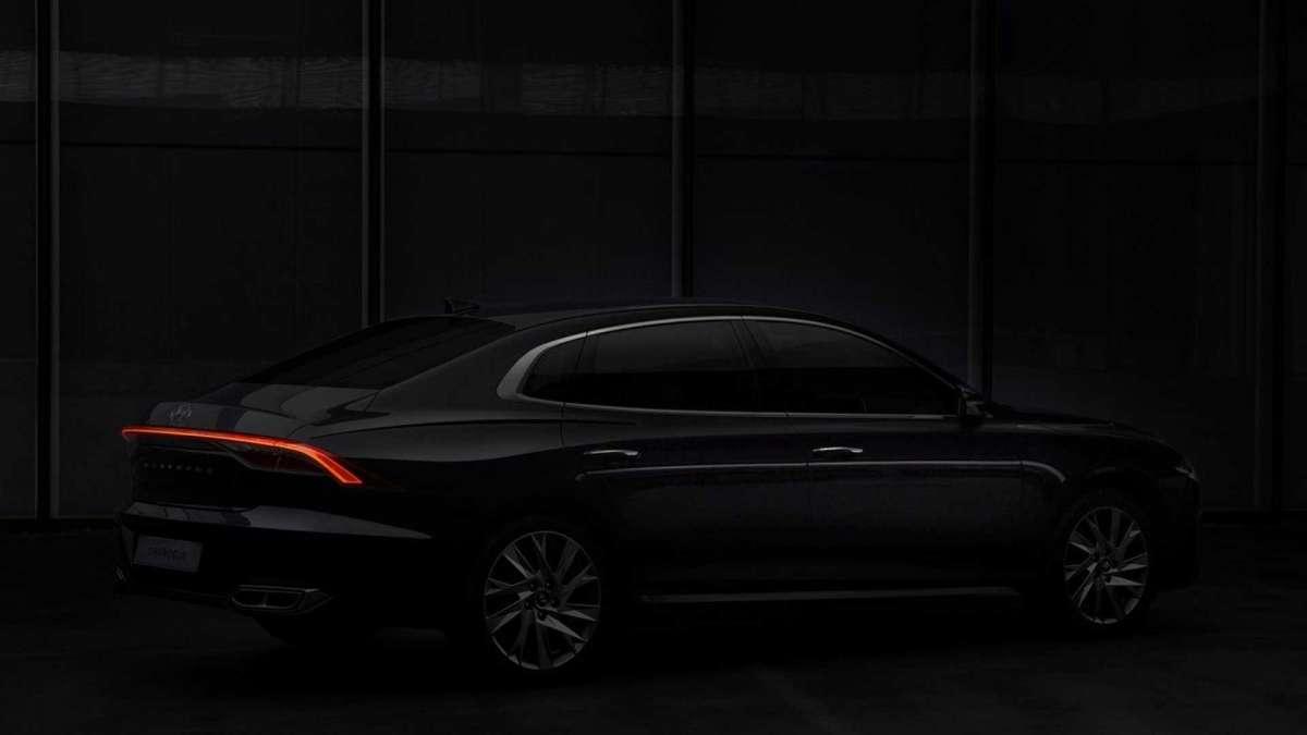 Hyundai представили бизнес-седан с заводским ГБО