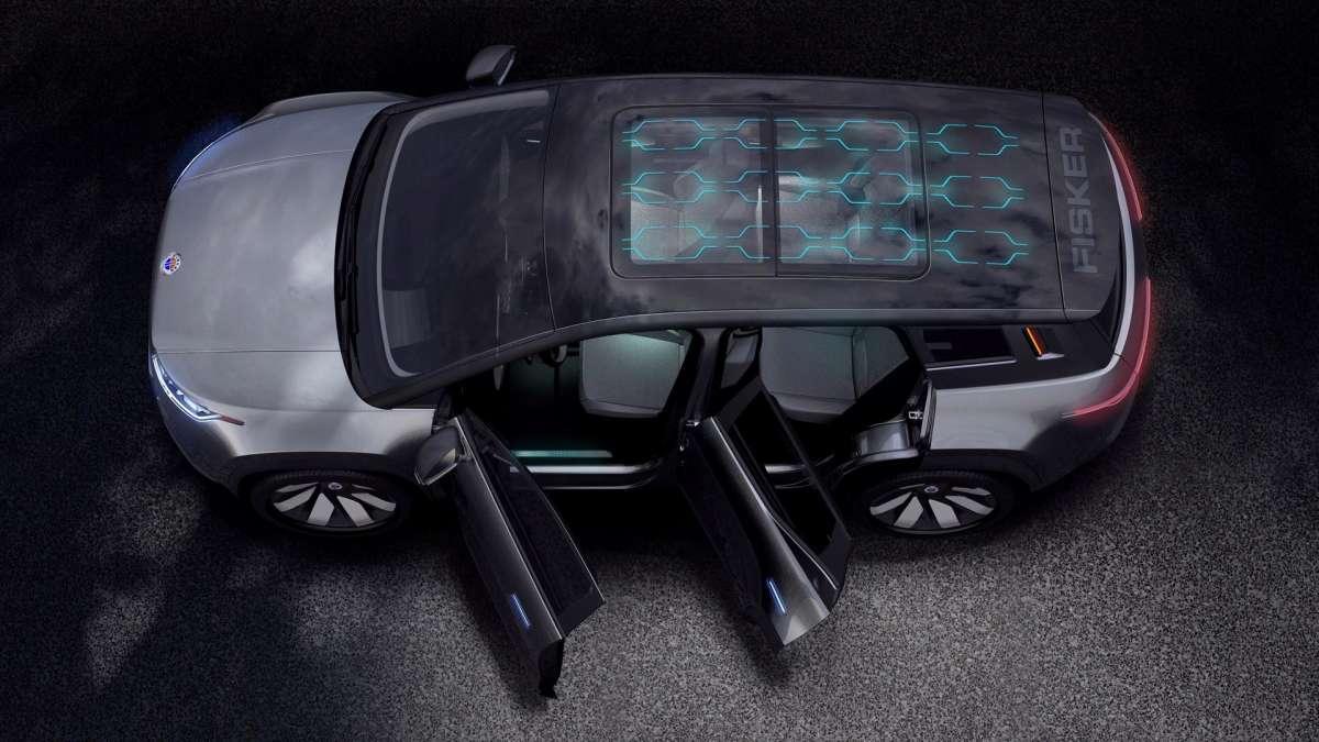 Новый электрокроссовер с солнечными батареями бросит вызов Tesla