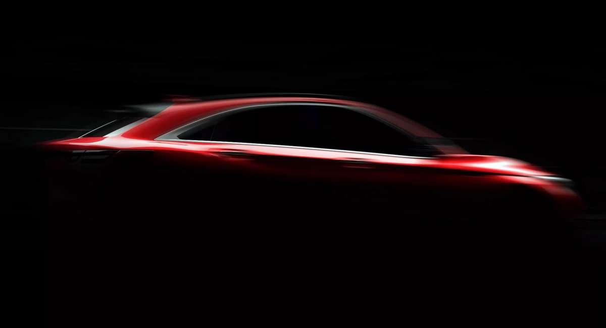 Инфинити поделился тизером нового купе-кросса QX55