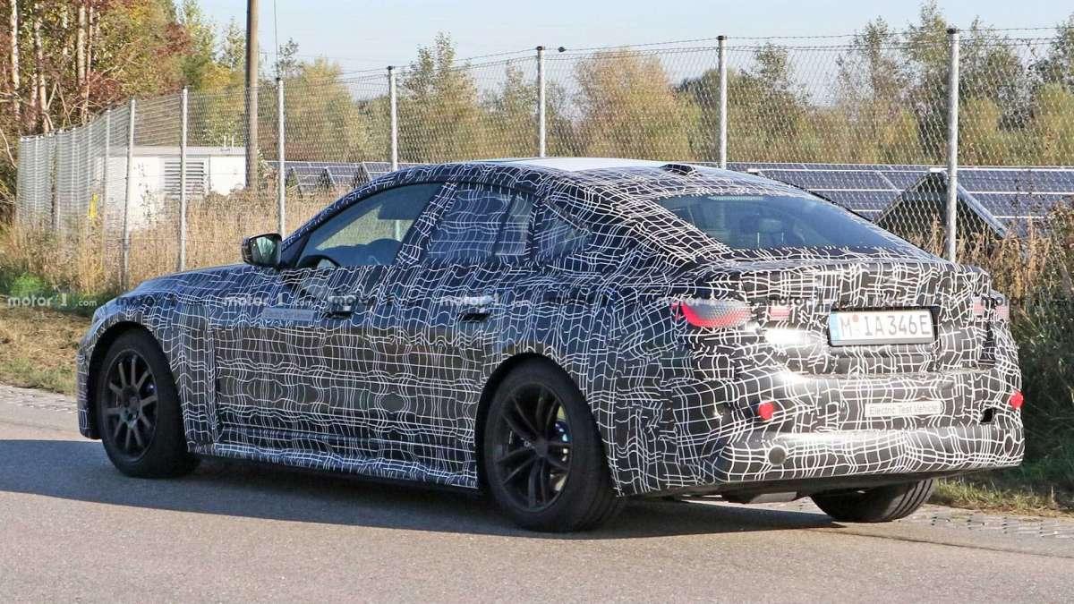 Новый электроседан BMW: 600 км запаса хода и разгон как у М5