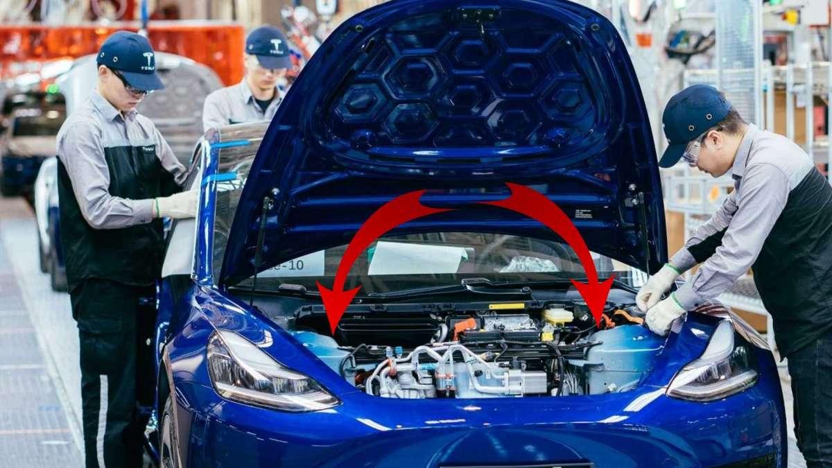 Обнаружено внезапное сходство новой Tesla с самой дешевой Toyota
