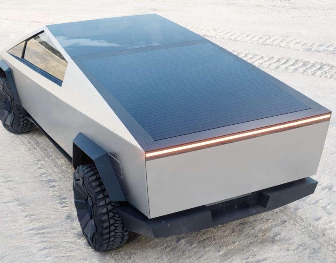 Пять инновационных фишек пикапа Tesla Cybertruck
