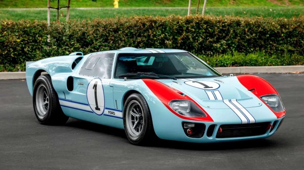 На продажу выставлен культовый спорткар из фильма «Форд против Феррари»