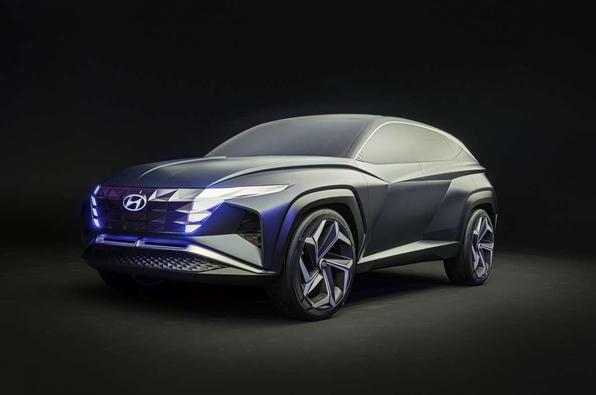 Новинка Hyundai Tucson 2020 на самых первых официальных
