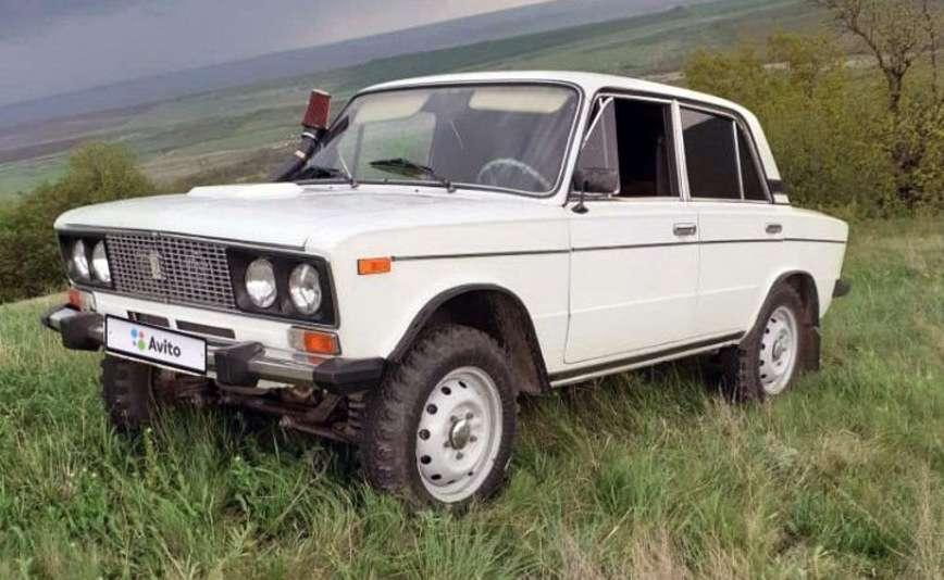 На продажу выставлена уникальная шестерка ВАЗ с полным приводом