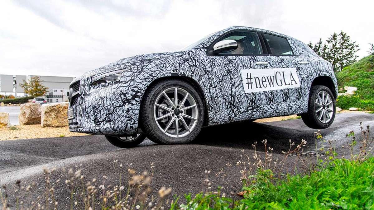 Новый Mercedes GLA 2020: солидный дизайн и современные опции