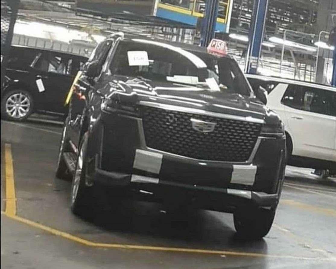Внешность нового Cadillac Escalade больше не секрет