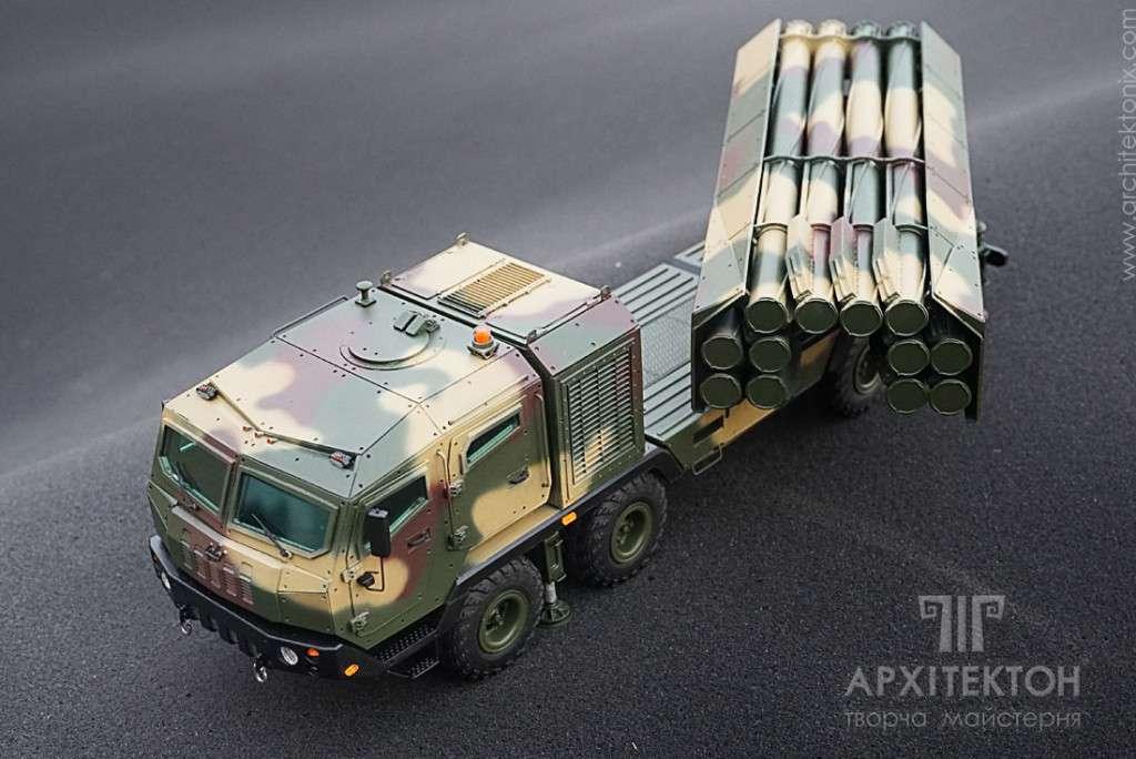вариант украинского ракетного комплекса «Ольха»