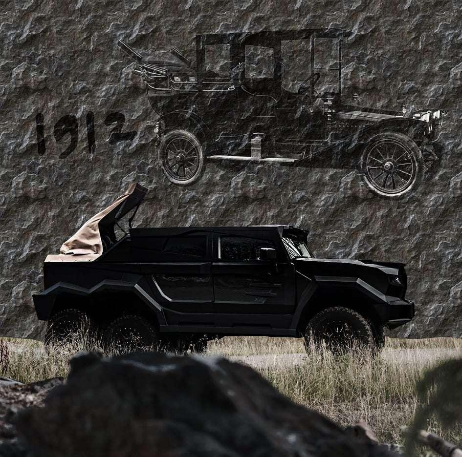Первые изображения самого роскошного шестиколесного авто в мире