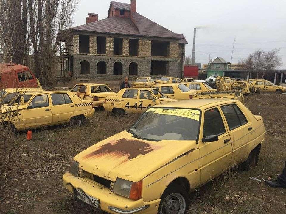 В Украине обнаружено необычное кладбище ЗАЗ