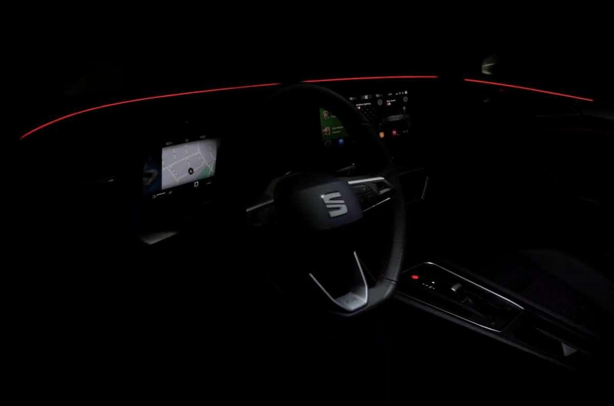 Новый Seat Leon 2020 сможет оригинально приветствовать владельца (видео)