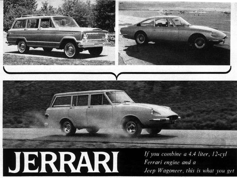 Каким был первый внедорожник Ferrari 50 лет назад