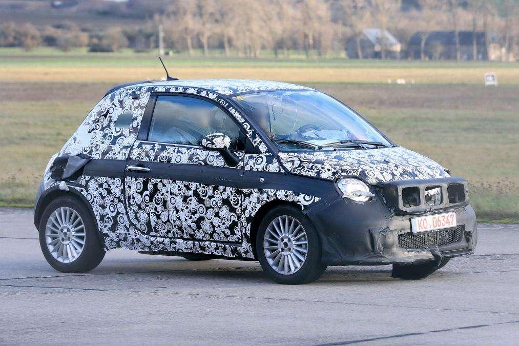 Новый Fiat 500 станет роскошнее и будет исключительно электрическим