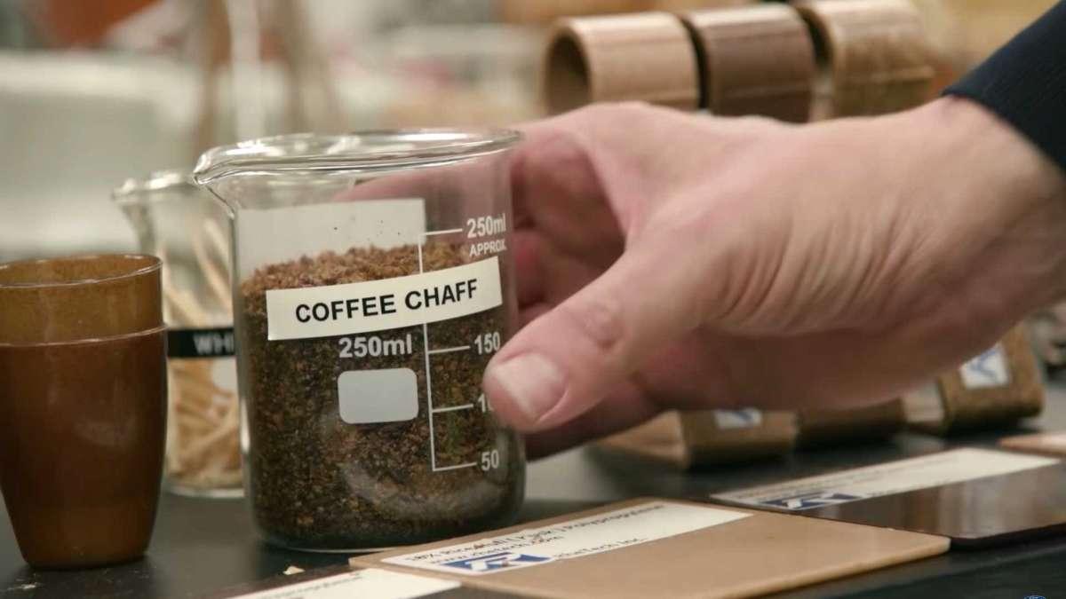 Ford нашел применение переработанной кофейной шелухе
