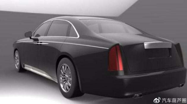 Первые изображения самого крутого и самого дорогого китайского авто