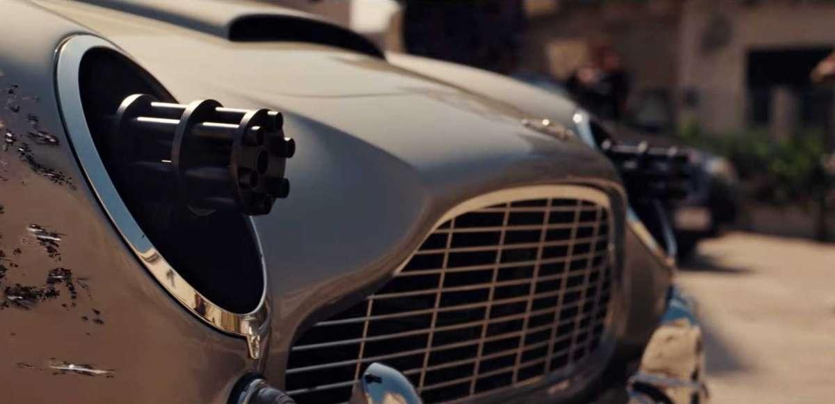 Какие авто станут героями нового фильма о Джеймсе Бонде (видео)