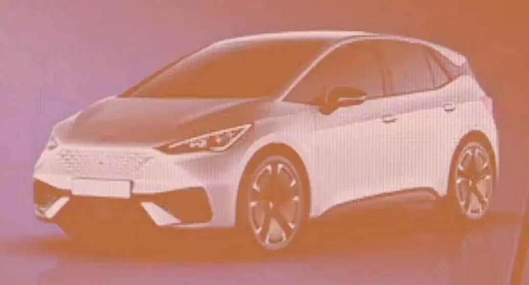 Новейший электромобиль Seat случайно рассекретили на видео