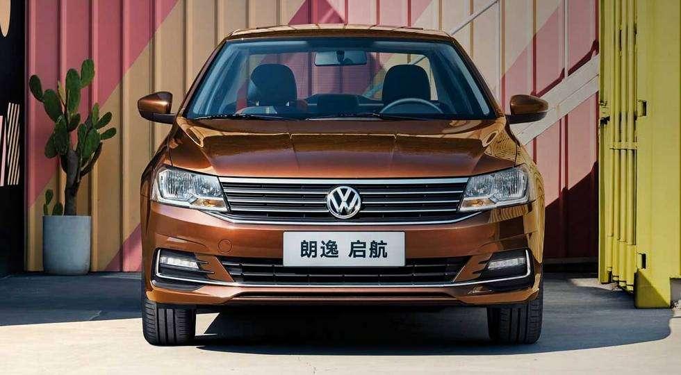 Volkswagen показал седан на базе Golf по цене Логана