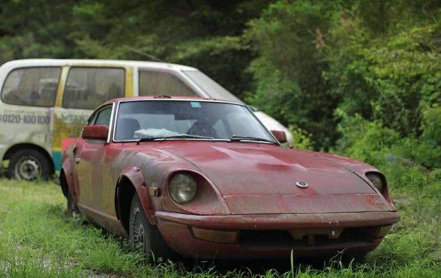Обнаружено кладбище редких и коллекционных японских авто