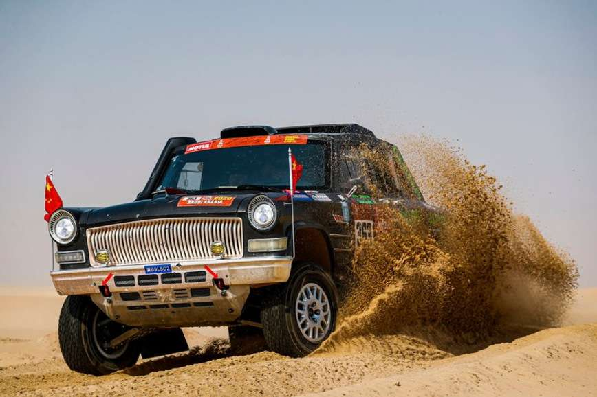 Назван самый необычный автомобиль в ралли Дакар 2020